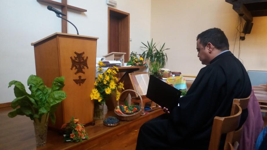 Culte d'installation du pasteur Jean-Luc Ramanantombotsoa à EPUB Namur