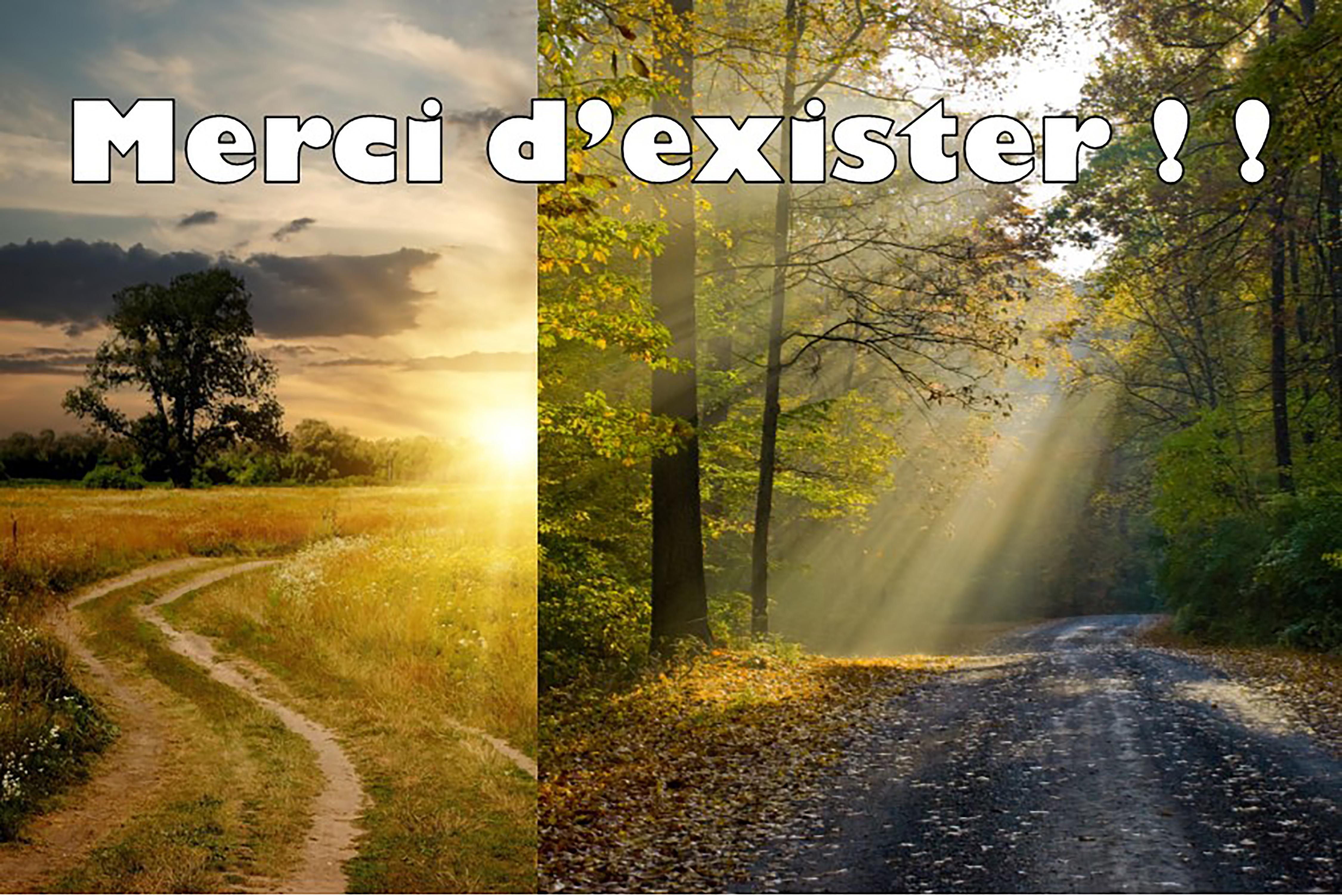 Prédication du 17 Décembre 2017: MERCI D'EXISTER