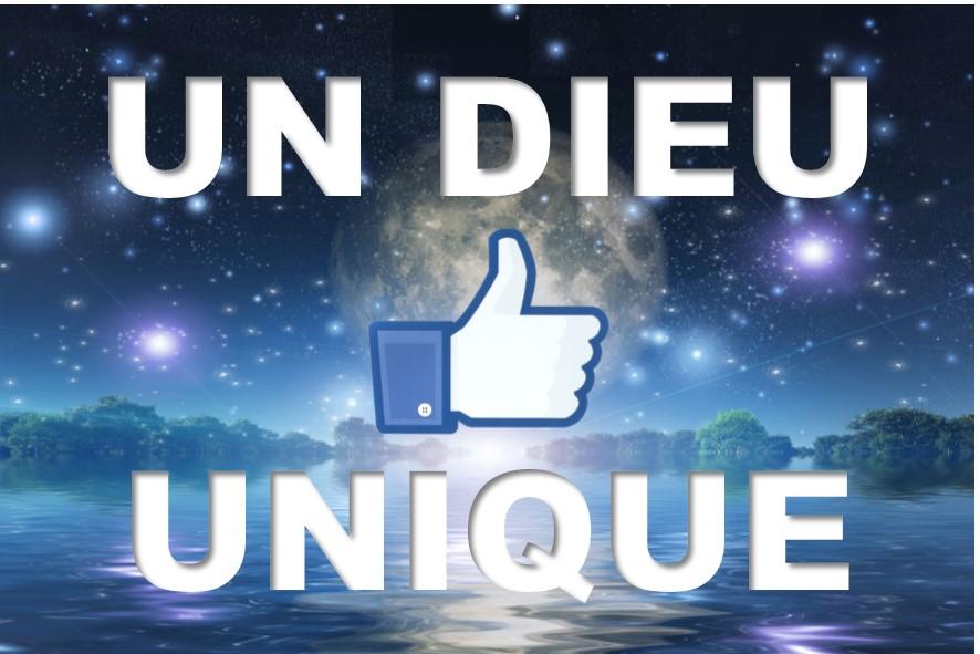 Prédication du 27 Mai 2018: UN DIEU UNIQUE EN SON GENRE.