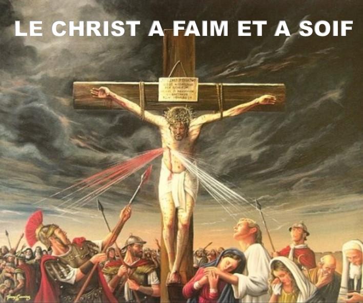 Prédication du 22 Juillet: LE CHRIST A FAIM ET A SOIF