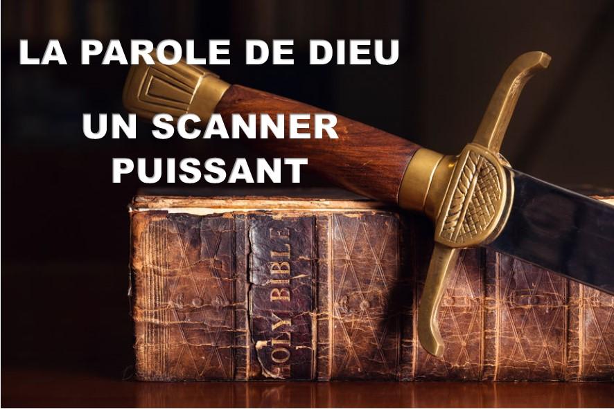 Prédication du 14 Octobre 2018: LA PAROLE DE DIEU UN SCANNER PUISSANT