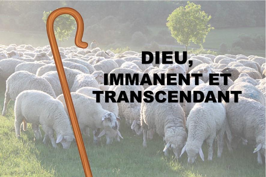 Prédication du 13 Janvier: UN DIEU IMMANENT et TRANSCENDANT