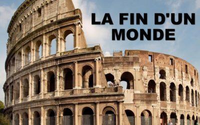 LA FIN D'UN MONDE (Prédication du 08 Septembre 2019)