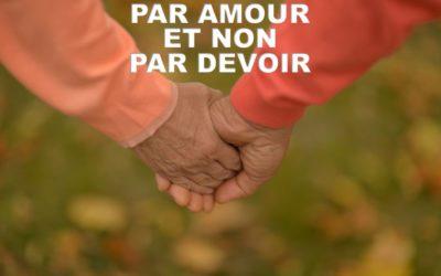 Par Amour et non par Devoir (Prédication 06 Sept 2020)