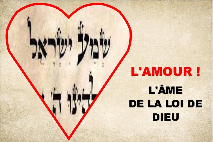 L'AMOUR, L'ÂME DE LA LOI (Prédication du 25 Avril 2021)